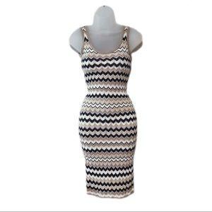 Crochet Knit Tank Dress